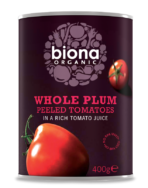 Plum Peeled Tomatoes (Tinned), Biona