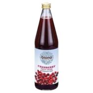 Organic Cranberry Fruit Drink, Biona