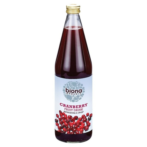 Ripe Organic- Organic Foods - Biona Organic Cranberry Fruit Drink