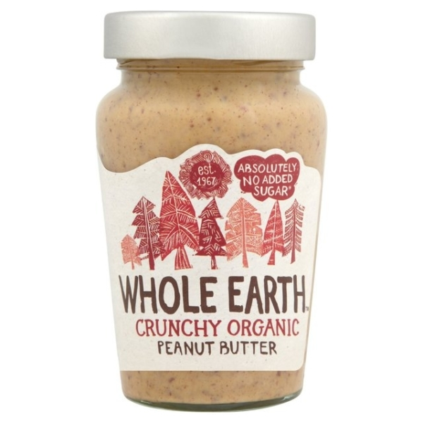 Organic Crunchy Peanut Butter available at Ripe Organic