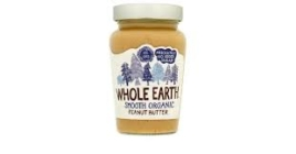Smooth Peanut Butter, Whole Earth