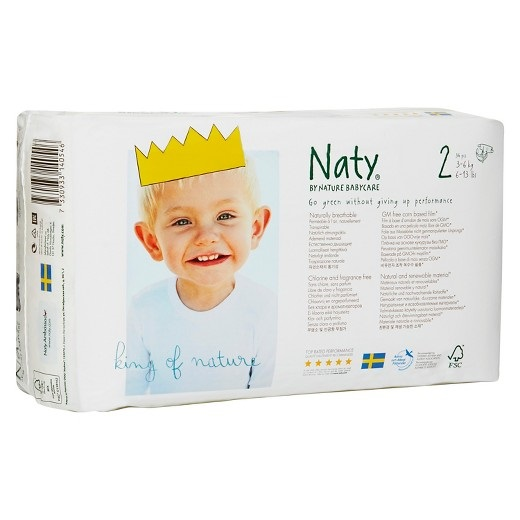 RIPE ORGANIC-NATY DIAPERS SIZE 2