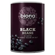 Black Beans (Tinned), Biona
