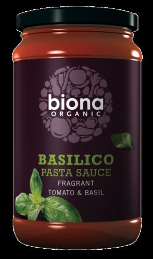 Ripe Organic – Organic Food Online - BIONA ORGANIC BASILICO TOM BASIL PASTA SAUCE