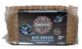 Rye Chia Flax Bread, Biona