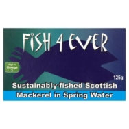 Mackerel in Spring Water, Fish 4 Ever