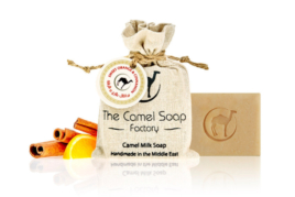Camel Soap Sweet Orange & Cinnamon, The Camel Soap Factory