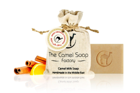 RIPE ORGANIC- The Camel Soap Factory, Orange & Cinnamon Soap Available in Dubai and abu Dhabi, UAE