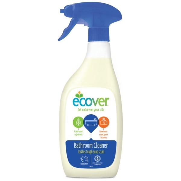 Organic bathroom cleaner