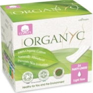 Panty Liners (Folded), Organyc