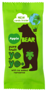 Apple Real Fruit Yoyo's, Bear