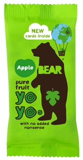 Ripe Organic - Pure Fruit Rolls - Yoyo - Bear