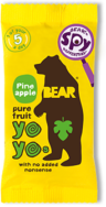 Pineapple Real Fruit Yoyo's, Bear