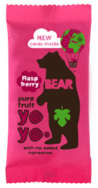 Raspberry Real Fruit Yoyo's, Bear