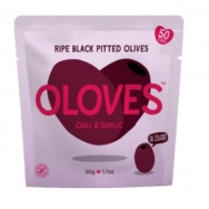 Chilli & Garlic Pitted Olives - Oloves