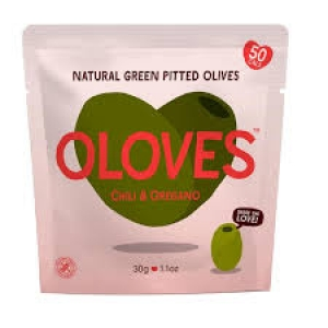 Ripe Organic Oregano Pitted Olives