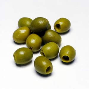 Ripe Organic Olives from Olive Grove