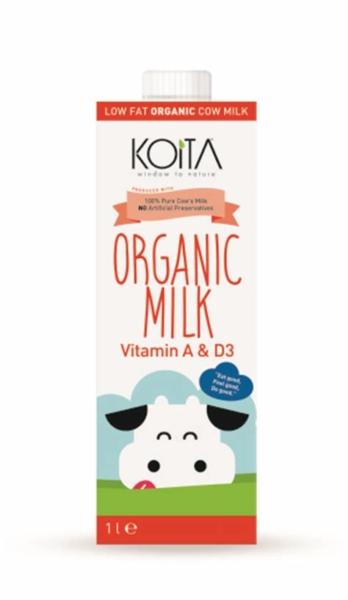 RIPE ORGANIC- Koita, Organic Low Fat Milk Available in Dubai and abu Dhabi, UAE.
