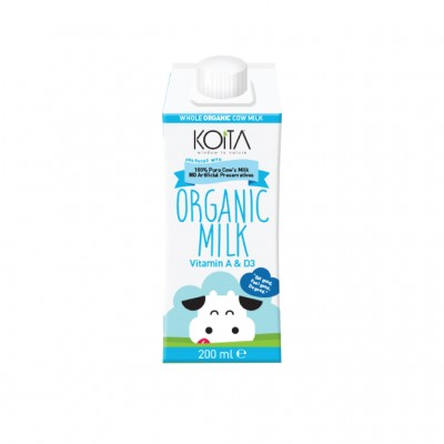 RIPE ORGANIC- Koita, Organic Whole Milk Available in Dubai and abu Dhabi, UAE.