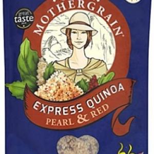 Ripe organic Quinoa Pearl & Red