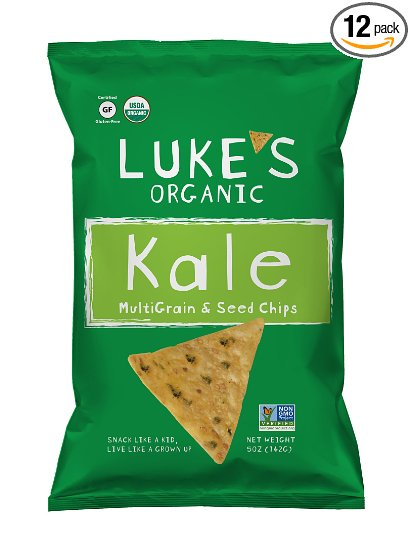 RIPE ORGANIC- Luke's Organic, Organic Kale Chips Available in Dubai and Abu Dhabi, UAE.