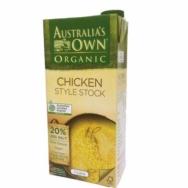 Organic Chicken Style Stock, Australia's Own