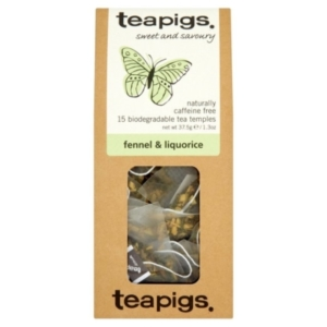 RIPE ORGANIC- Teapigs, Organic Tea leaves Fennel and Liquorice Available in Dubai and Abu Dhabi, UAE
