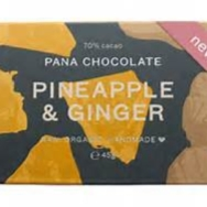 Pana Chocolate Raw Chocolate Pineapple & Ginger
