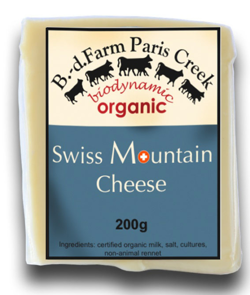 Organic Swiss cheese available in Dubai, Abu Dhabii, UAE