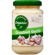 Crushed Garlic, Jensen's Organic
