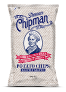 Organic Potato Chips - Lightly Salted  -Thomas Chipman