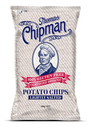 RIPE ORGANIC- Thomas chipman Lightly salted Potato Chips Available in Dubai and Abu Dhabi, UAE