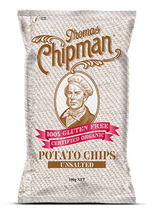 RIPE ORGANIC- Thomas Chipman, Unsalted Potato Chips Available in Dubai and Abu Dhabi, UAE