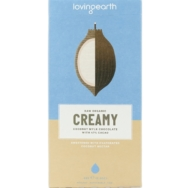 Creamy Coconut Mylk Chocolate, Loving Earth