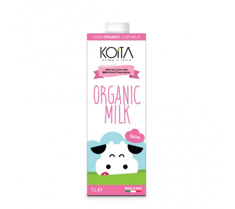 RIPE ORGANIC- Koita, Organic Skim Milk available in Dubai and Abu Dhabi, UAE.