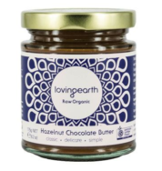 Organic Hazelnut Chocolate Butter, Loving Earth