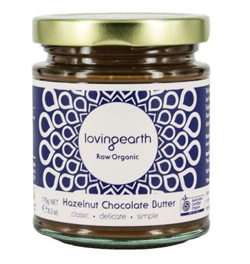 RIPE ORGANIC- Loving Earth, Organic Hazelnut Chocolate Butter Available in Dubai and Abu Dhabi, UAE.
