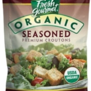 Organic Seasoned Premium Croutons, Fresh Gourmet