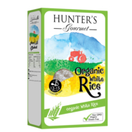 Organic White Rice, Hunter's Gourmet