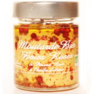 Organic Mustard Black Pepper and Pink, Savor et Sens