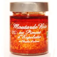 Organic Mustard Espelette Pepper, Savor et Sens