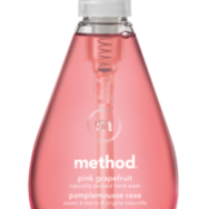 Hand Wash Gel Pink Grapefruit, Method