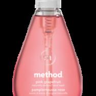 Hand Wash Gel Pink Grapefruit, Method