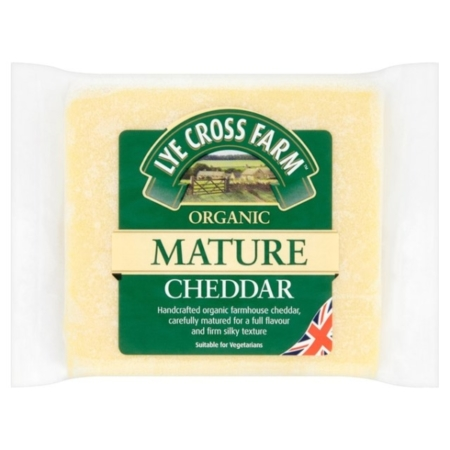 RIPE ORGANIC- Lye Cross, Organic Mature Cheddar Available in Dubai and Abu Dhabi, UAE.