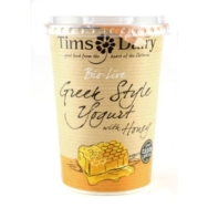 Bio-Live  Greek Style Yogurt with Honey, Tim's Dairy