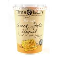 Bio-Live  Greek Style Yogurt with Honey, Tim's Dairy