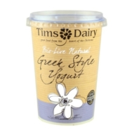 Bio-Live Greek Style Natural Yoghurt, Tim's Dairy