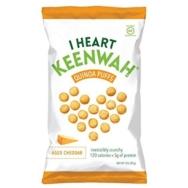 Quinoa Puffs Aged Cheddar, I Heart Keenwah