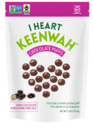 Dark Chocolate puffs & Himalayan Pink, I Heart Keenwah