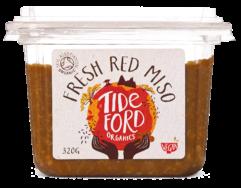Organic Fresh Red Miso , Tideford